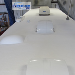 Travel-Trailer-with-sprayed-over-skylight-FlexArmor